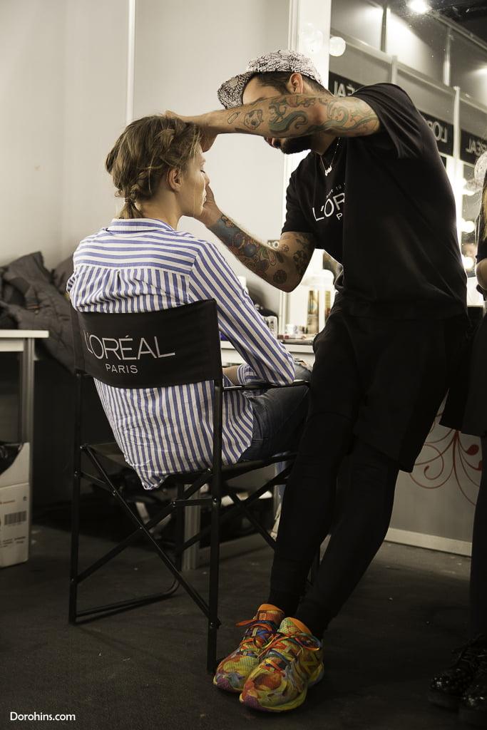 Backstage Leyre/ Fotografia Lazarina Kanorova