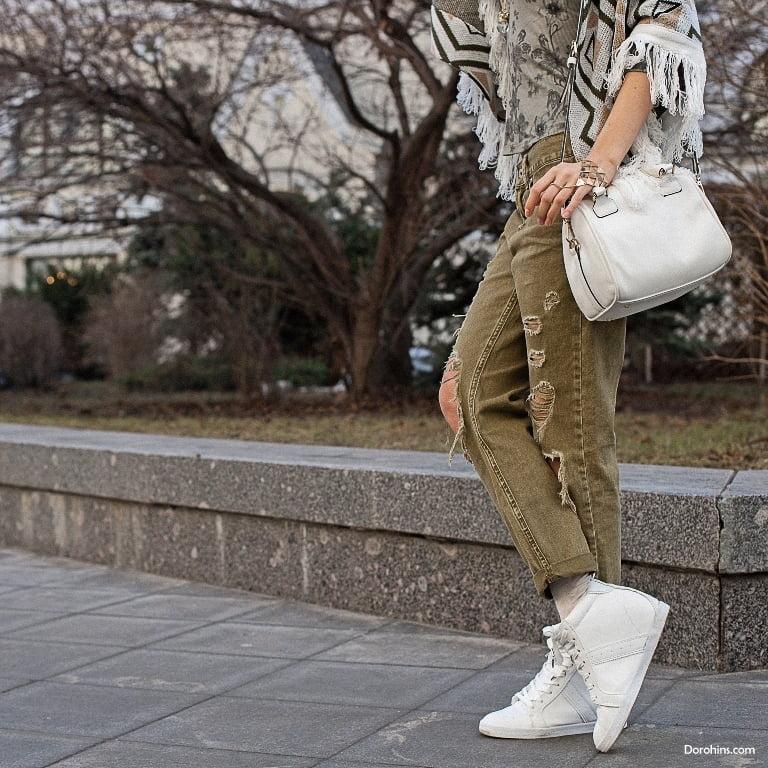 красивый стиль_сочетании обуви и сумки