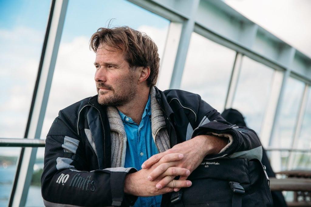 В Скандинавию на мотоцикле_Фото_помощь_проблемы_на авто_через паром_из Питер