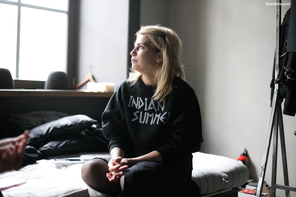 Женя Малыгина_Дизайнер_pirosmani_интервью_фото_коллекция_Питер_шоурум_показ Малыгиной