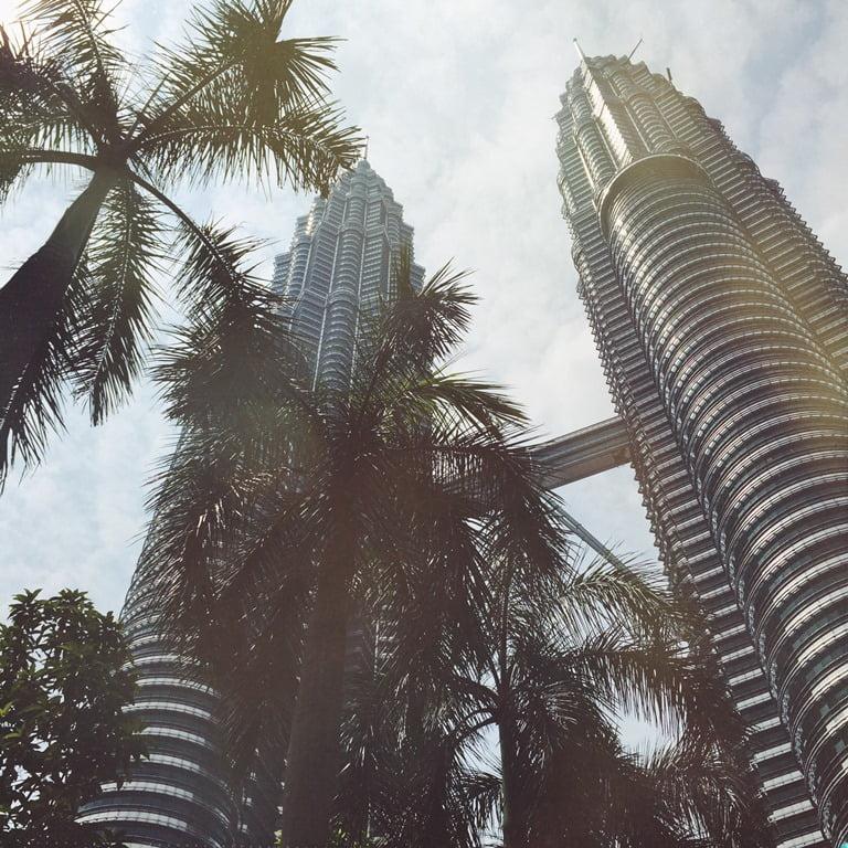 4 Куала-Лумпур_Башни Петронас одно из самых высоких сооружений в мире