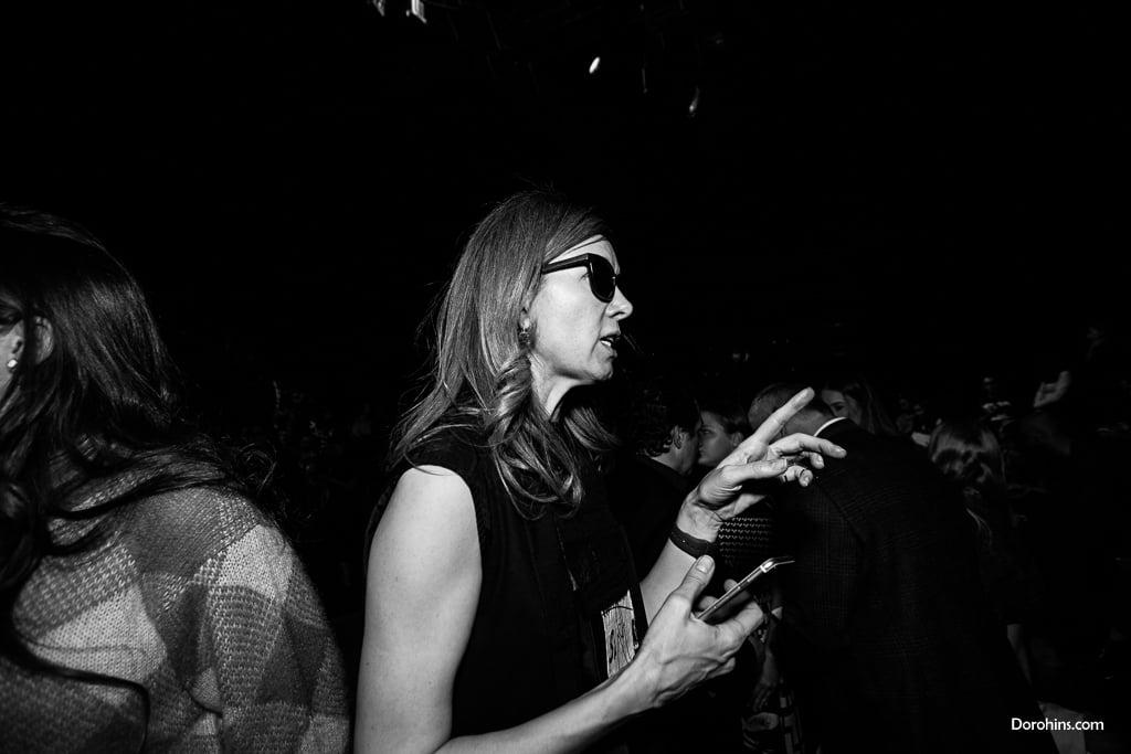 Fashion Collection_ главный редактор Марина Дэмченко_Mercedes-Benz Fashion Week Russia_фото_гости_показ_неделя моды в Москве фото