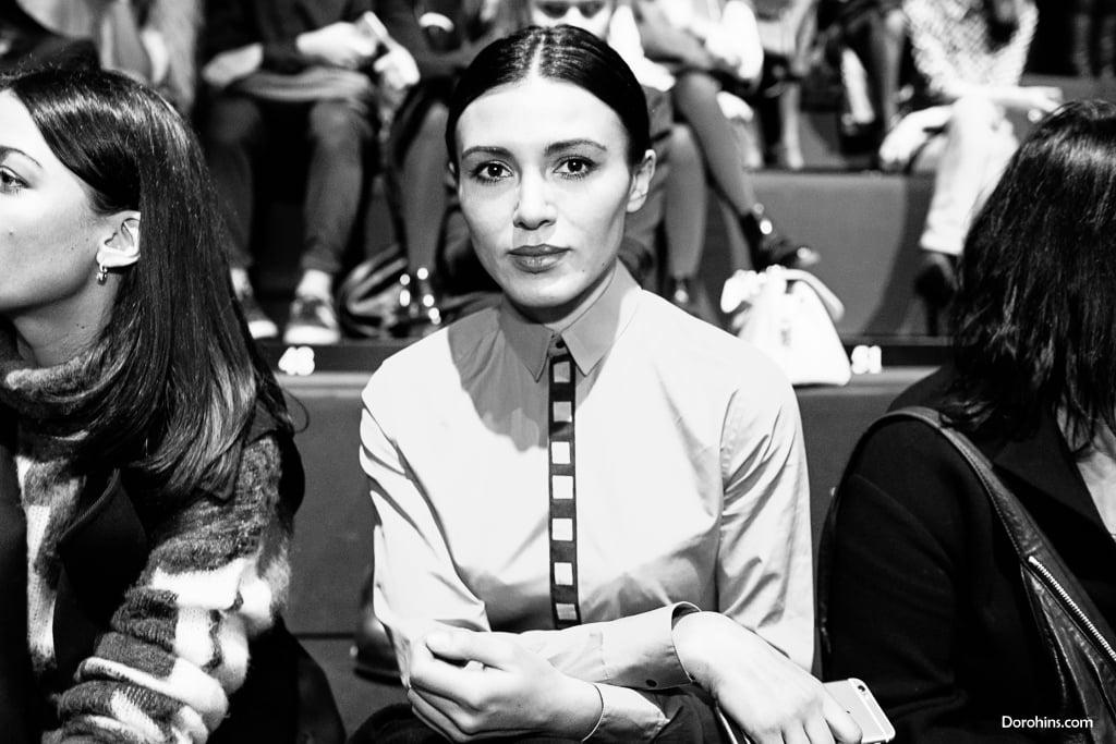 Кристина Шаповалова_Mercedes-Benz Fashion Week Russia_гости 3 день_Яся Миночкина, гости показа Миночкина_показ_ (14)