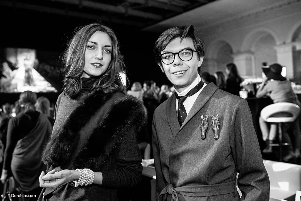 Mercedes-Benz Fashion Week Russia_гости 3 день_Яся Миночкина, гости показа Миночкина_показ_