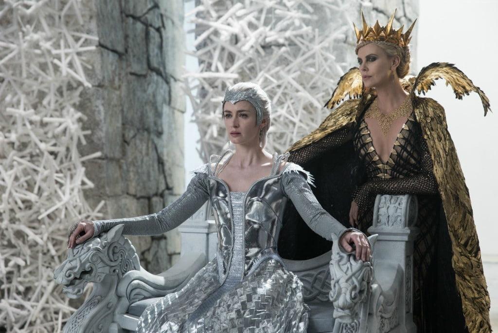охотник и снежная королева белоснежка и снежная королева