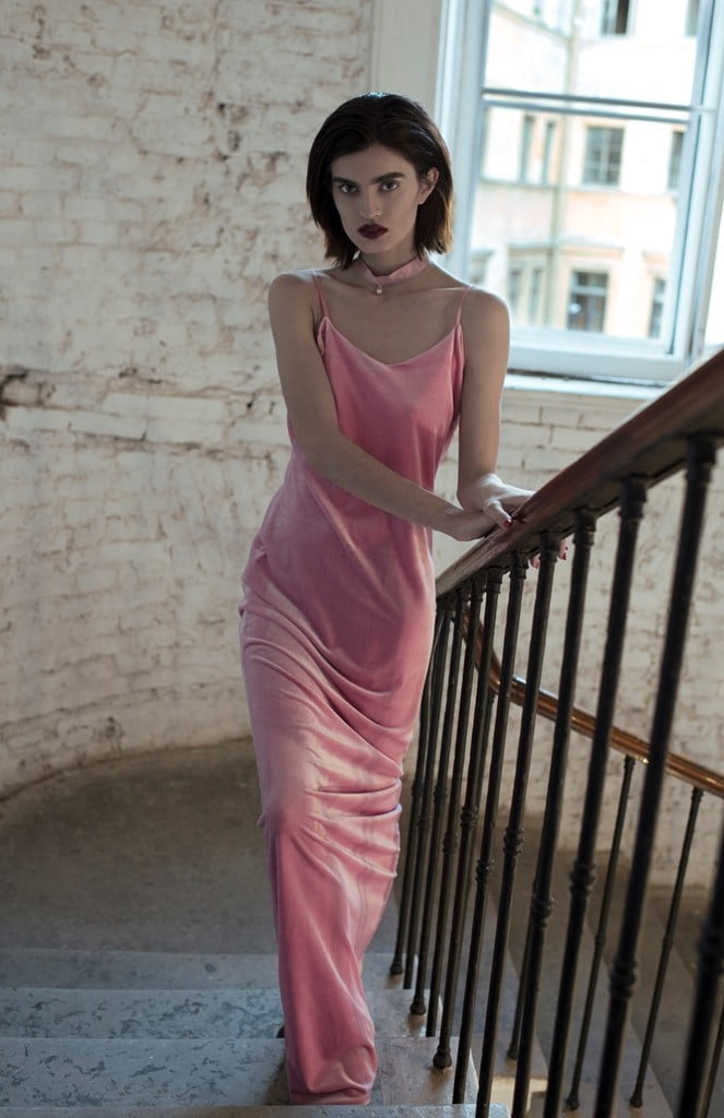 Pink collar CHANEL_Dress So Number One_Likachev Rostislav_Alexandra Panika_Sidorenko Svetlana