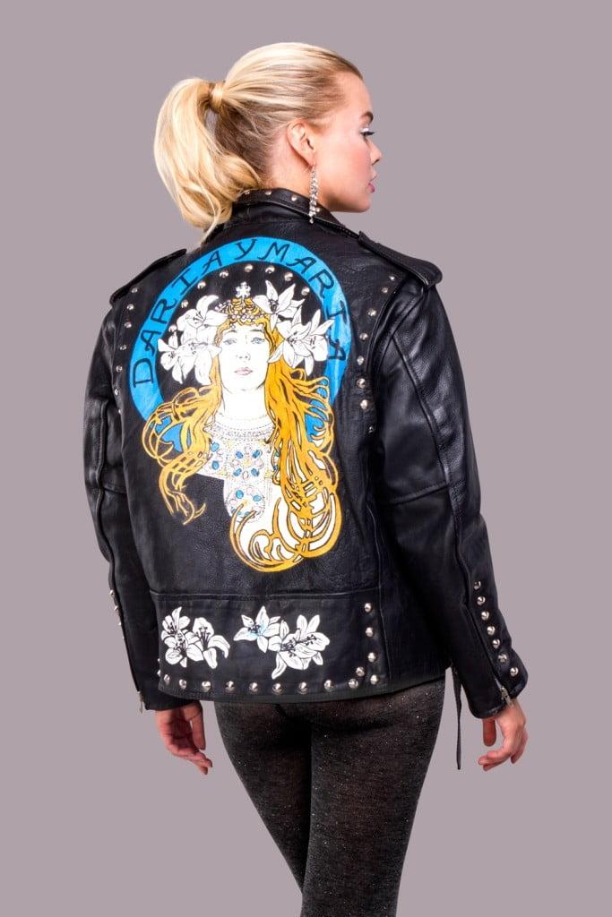 куртка рисунок