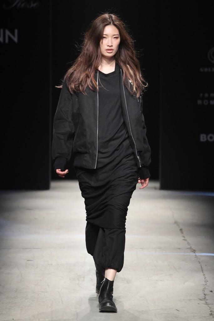 collection Baroque_дизайнера Ли Доён_дарк стайл_черные вещи купить