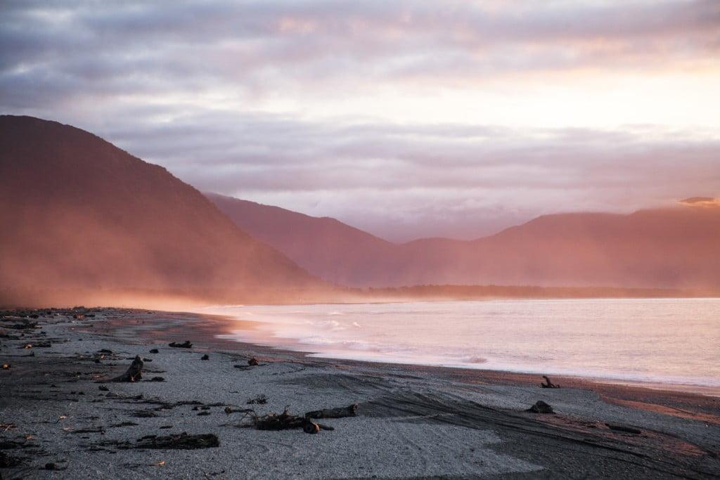 остров новая зеландия_новая зеландия западное побережье