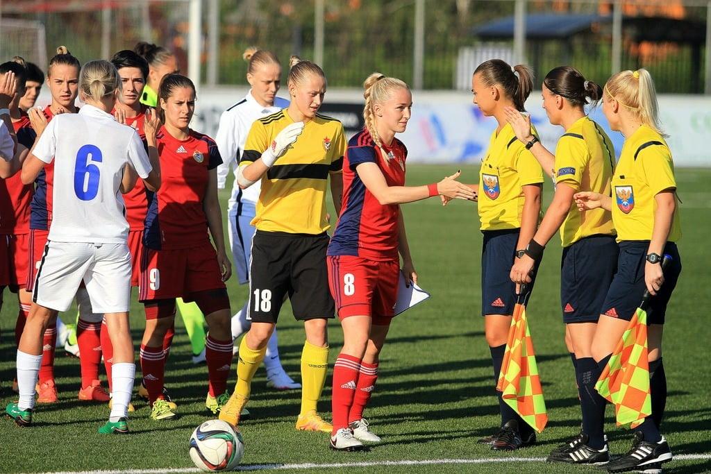 про женский футбол_женский футбол в России_звезды женского футбола