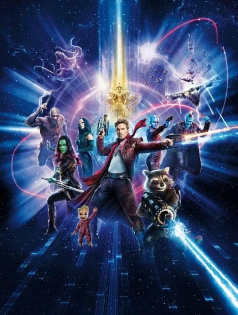 стражи галактики 2 серия постер