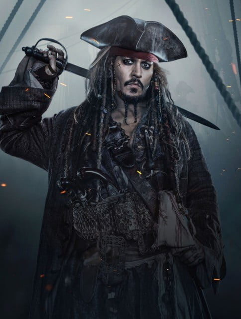 Джонни Депп_Пираты карибского моря 5