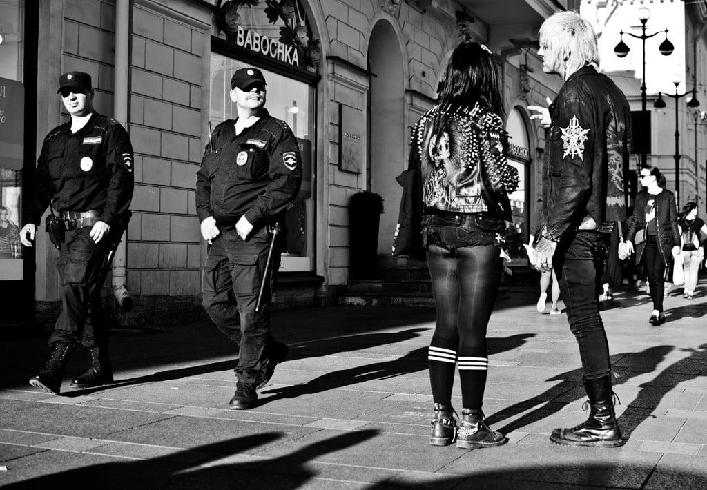 панки 2017_панк музыка_панк и полиция
