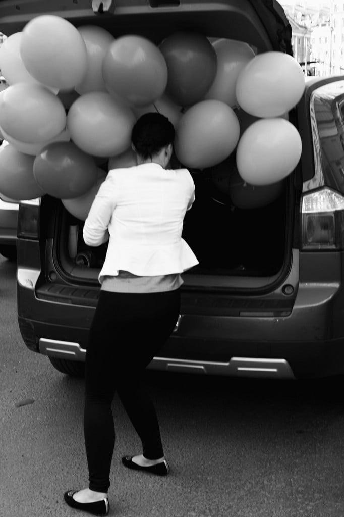 шары в машину