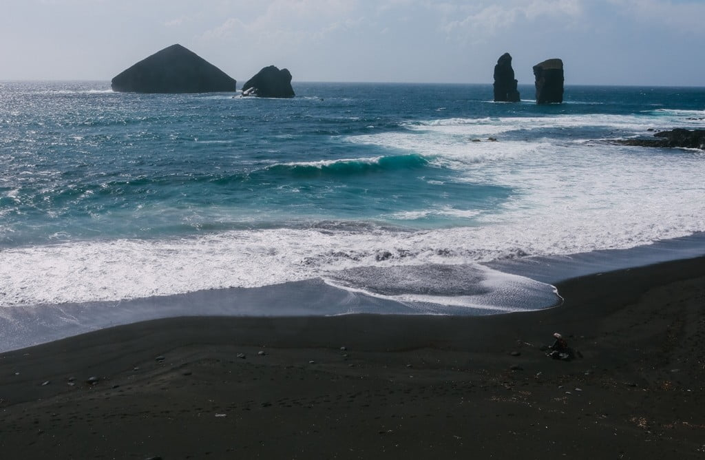 Чёрный пляж_Азорские острова