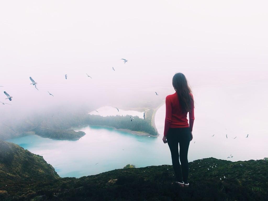 Lagoe de Fogo_небо в  облаках