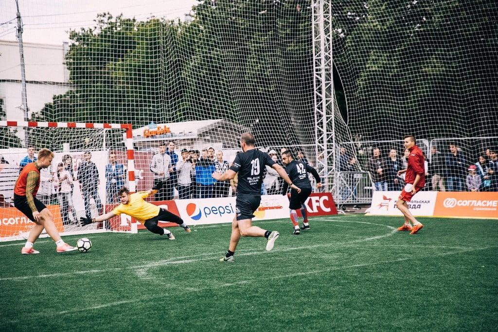 kfc батл футбол