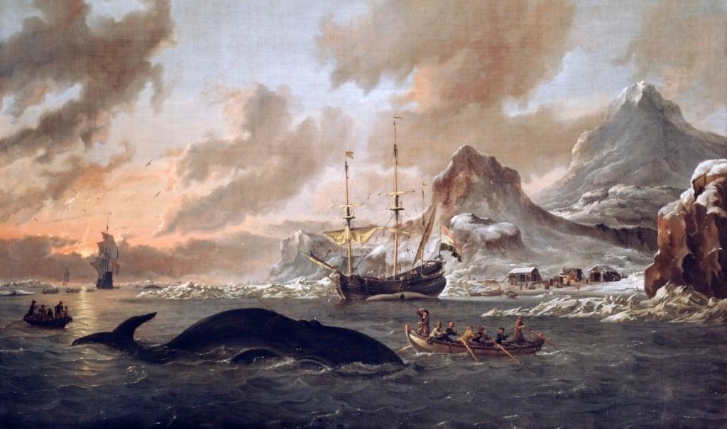 китобойные промыслы